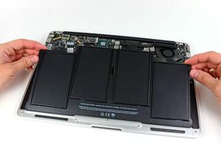 MacBook air battery replacment in mumbai